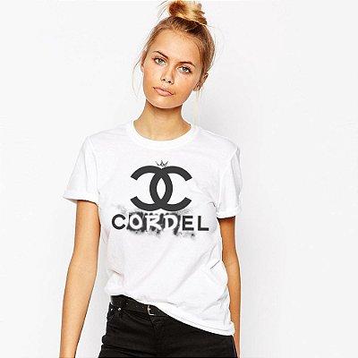 Camiseta Feminina, Coco Cordel