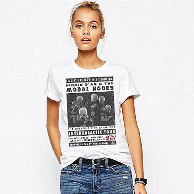 Camiseta Feminina, Star Band