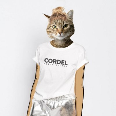 Camiseta Feminina, Cordel