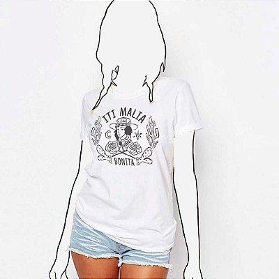 Camiseta Feminina, Iti Malia Bonita