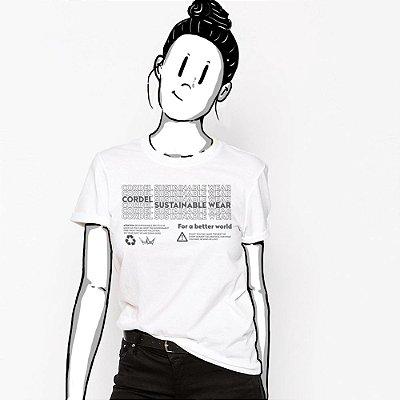Camiseta Feminina, Por um Mundo Melhor