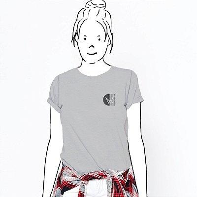 Camiseta Feminina, Básica Seja Sustentável