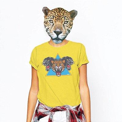 Camiseta Feminina,  Feras Br