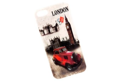 CAPA DE CELULAR PARA IPHONE 5 VINTAGE LONDRES