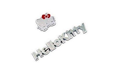 ADESIVO 3D METAL HELLO KITTY