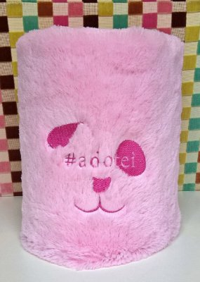 Manta Térmica Rosa #adotei