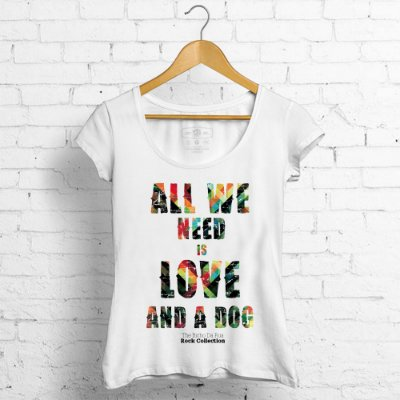 BL All We Need is Love And A Dog - Rock Collection