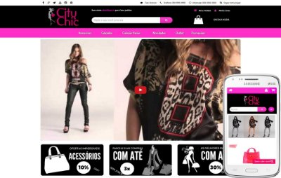 City Chic Pink Video-Banner