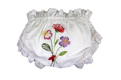 Calcinha Infantil Flores