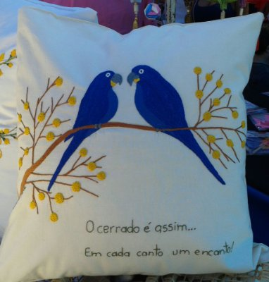 Almofada Pássaros 12h