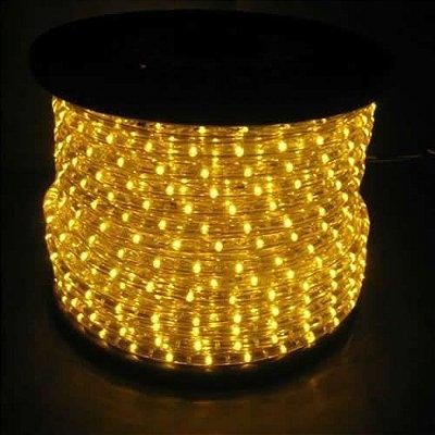 Mangueira LED Amarelo Luminosa De Alto Brilho Por Metro Para Sancas E Decorações Em Geral