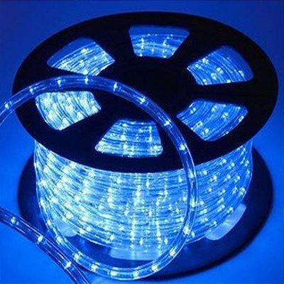 Mangueira LED Azul Luminosa De Alto Brilho Por Metro Para Sancas E Decorações Em Geral