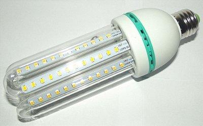 Lâmpada de Led  9W 3U Milho Branco Frio 6000K Bivolt E27