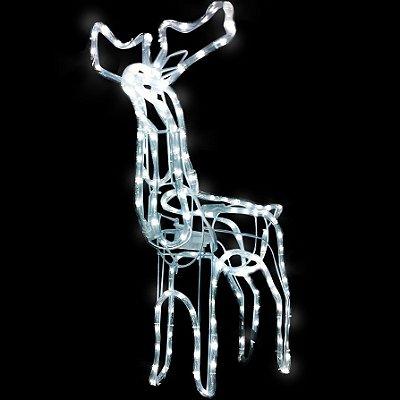 Rena Com Movimento Iluminada Led Natal Para Ambientes Externos 127v