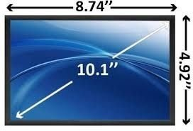 Tela 10.1 Led Padrão Resolução 1024x600 40 Pinos Esquerda