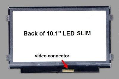 Tela 10.1 Led Slim Padrão Resolução 1024x600 40 Pinos Direito