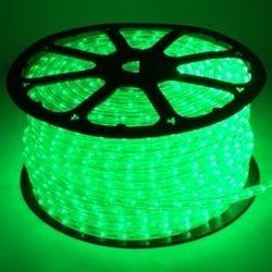 Rolo Mangueira LED Verde (100M) Luminosa De Alto Brilho Por Metro Para Sancas E Decorações Em Geral