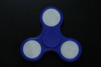 SPINNER LED AZUL