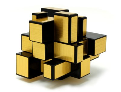 MIRROR BLOCKS DOURADO