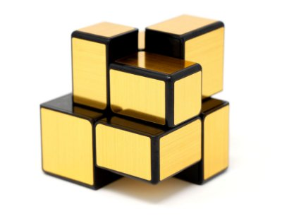 MIRROR BLOCKS 2X2 DOURADO