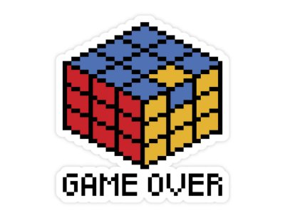 STICKER GAME OVER