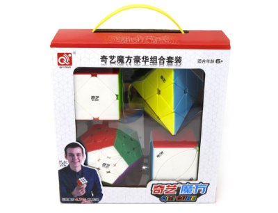 BOX KIT MEGA PYRA SKEWB IVY COLOR