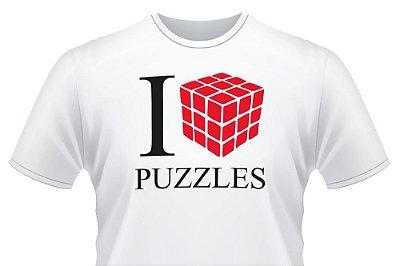CAMISETA I LOVE PUZZLE