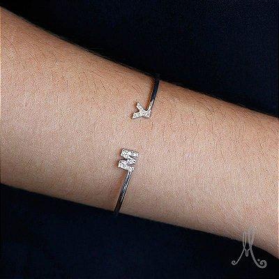 10253-Bracelete Personalizado Incial
