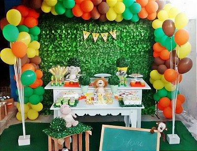 Painel De Muro Inglês Para Festa Infantil