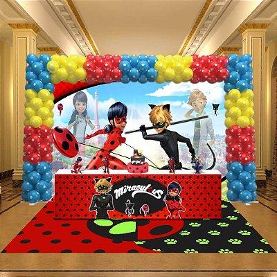Kit Festa 3D Miraculous Ladybug