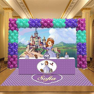 Kit Festa 3D Princesa Sofia