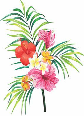 Display de Flores para Decoração de Festa