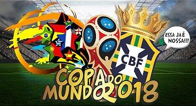 Painel de Festa Infantil Copa do Mundo 2018