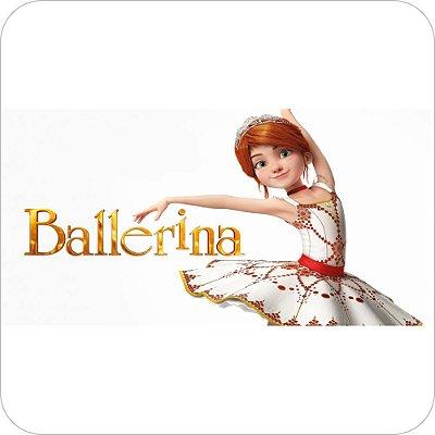 Painel Para Decoração De Festa A Bailarina