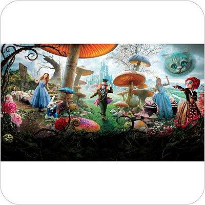 Painel de Festa Infantil Alice no País das Maravilhas - Zoom Out
