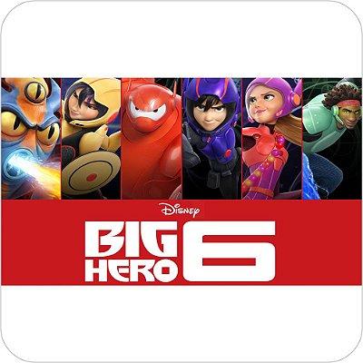 Painel de Festa Infantil Big Hero 6 Personagens