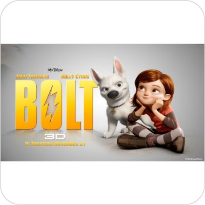 Painel de Festa Infantil Bolt - O Super Cão 3D