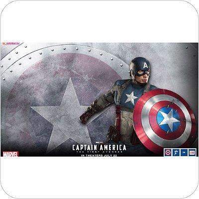Painel de Festa Infantil Capitão America Capa Filme