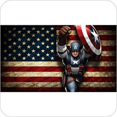 Painel de Festa Infantil Capitão America Quadrinhos
