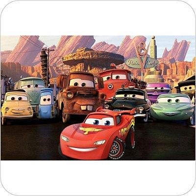 Painel de Festa Infantil Carros Reunião em Radiator