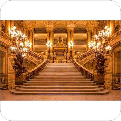 Painel de Festa Infantil Castelos - Escadas II
