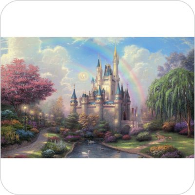 Painel de Festa Infantil Castelos II