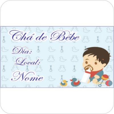Painel de Festa Infantil Chá de Bebê - Menino