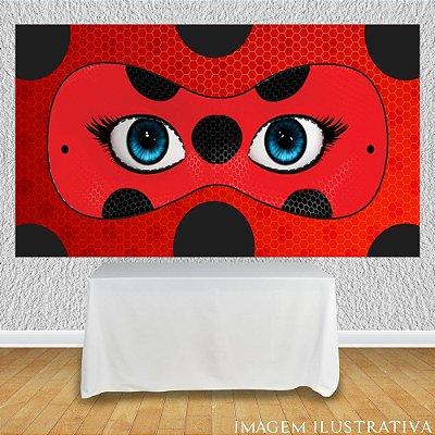 Painel de Festa Infantil Miraculous Ladybug - Máscara