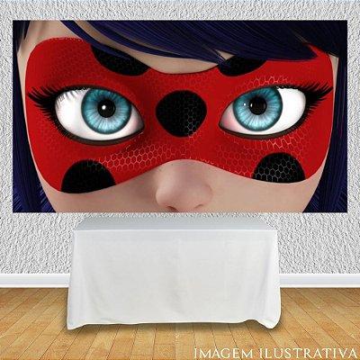 Painel de Festa Infantil Miraculous Ladybug - Máscara II