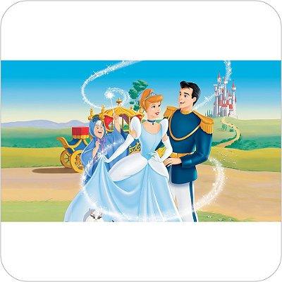 Painel de Festa Infantil Cinderela e o Príncipe II