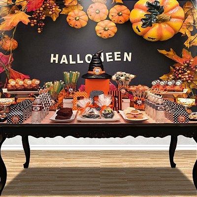 Painel de festa Halloween