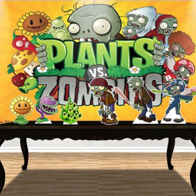 Kit Festa Básico Plants vs Zombies