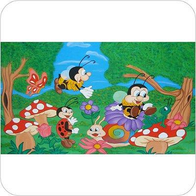 Painel Para Festa Infantil - Abelhinhas e os Insetos