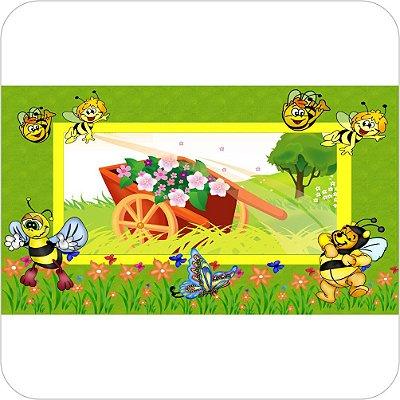 Painel Para Festa Infantil - Abelhinhas e o Carrinho de Mão